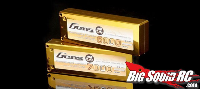 Alpha Series Gens Ace Lipo Batteries