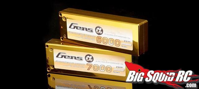 Alpha Series Gens Ace Lipo Batteries