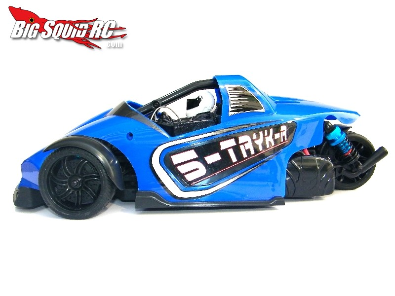 RedCat S-TRYK-R 3-Wheel Belt Drive Car