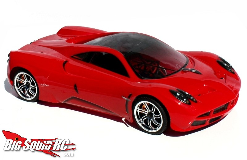 redcat pagani huayra pro brushless on road rtr big squid