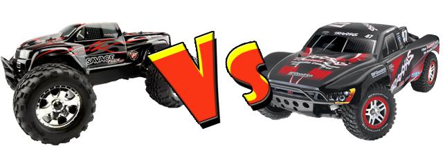 Savage vs Slash 4x4