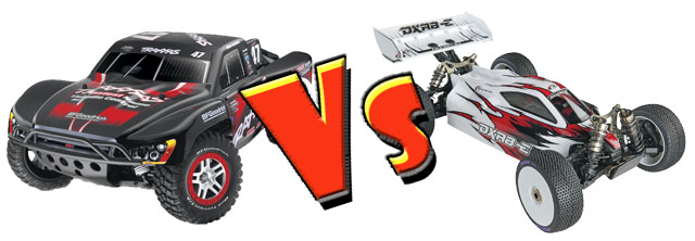 Slash 4x4 vs DXR8-E