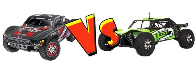 Slash 4x4 vs EXO