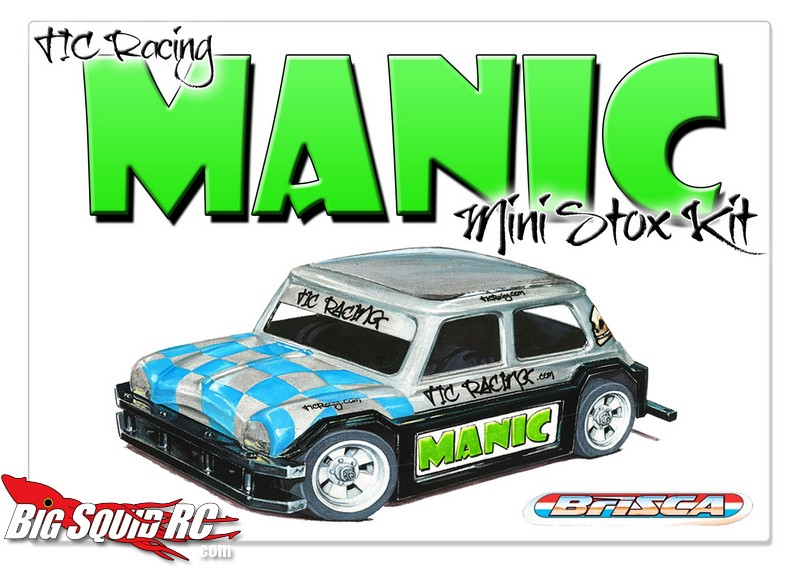 TIC Racing Manic Oval Car