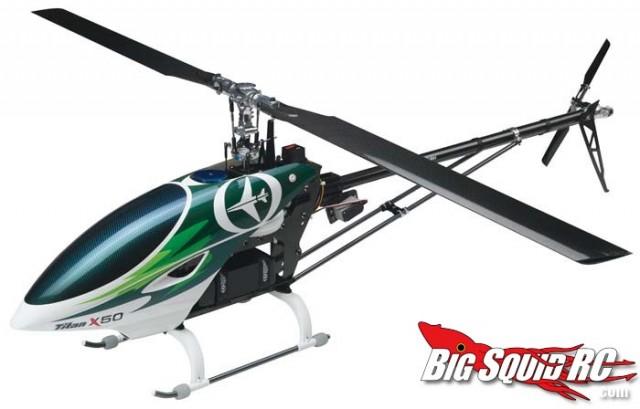 Thunder Tiger Titan X50EF FBL Heli Kit w/Brushless Motor