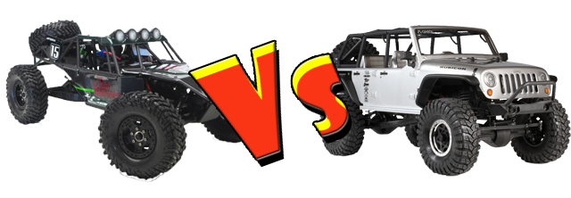 Twin Hammers vs Axial Jeep