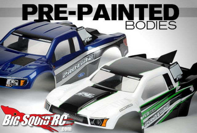 Pro-Line Pre-painted Bodies for Short Course Trucks