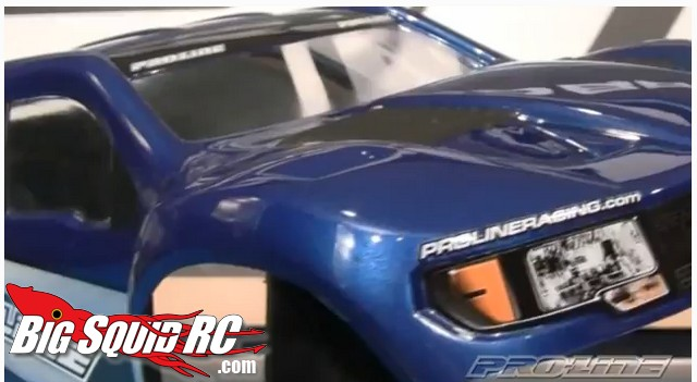 Video Pro-Line pre-painted short course bodies