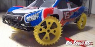 Spike Wheel Short Course Truck 3D Printer