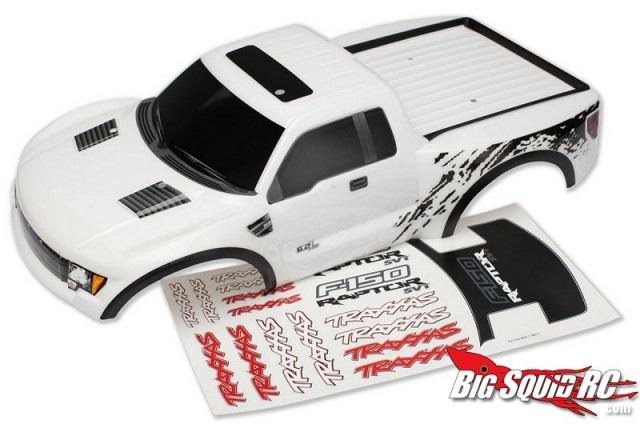 Traxxas Ford Raptor in White
