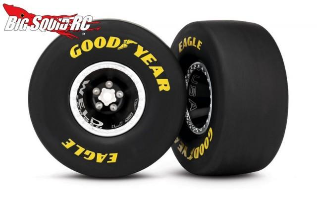 6968 Weld Racing Aluminum Wheels Traxxas Funny Car 171 Big