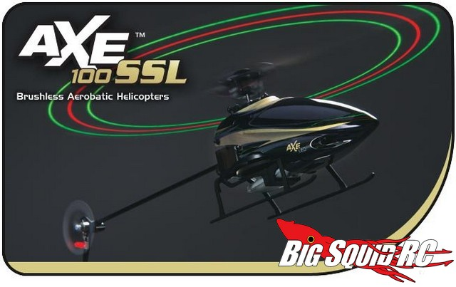 Heli-Max Axe 100 SS & Axe 100 SSL Brushless Aerobatic Helicopters