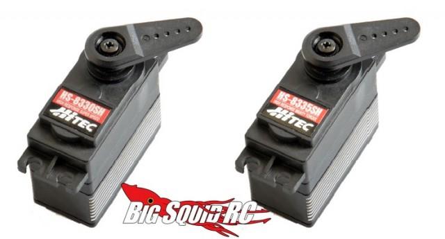 Hitec HS-83330SH and HS-8335SH Servo