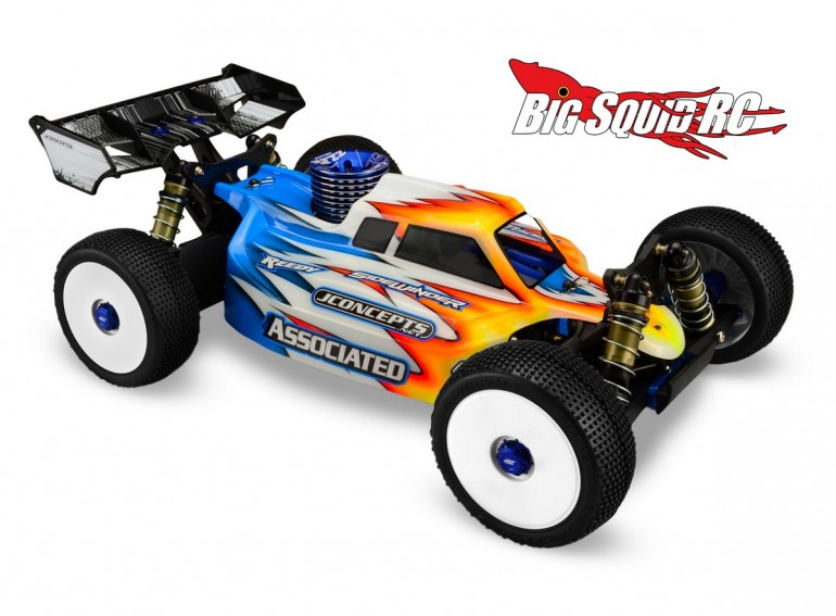 JConcepts RC8.2 Silencer Clear Buggy Body