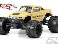 Pro-Line Desert Militia Clear Body for Monster Trucks