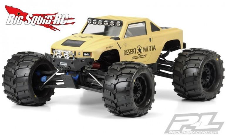 Pro-Line Desert Militia Clear Body for Monster Trucks