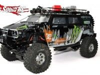 Radshaperc Axial SCX10 Bull Bar with winch plate