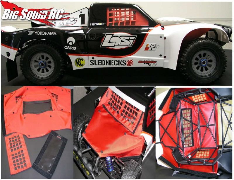 Outerwears shroud for Losi 5ive-t