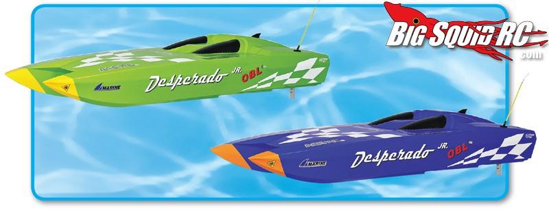 Thunder Tiger Desperado Jr. OBL Brushless 2.4GHz Off-Shore Racer RTR
