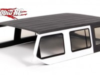 Axial polycarbonate hardtop for Jeep Wrangler