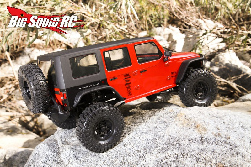 Axial Polycarbonate Hardtop And Complete Metal Gear Set