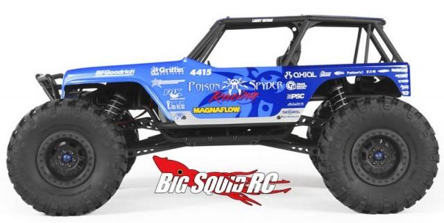 Axial Jeep Wrangler Wraith Poison Spyder