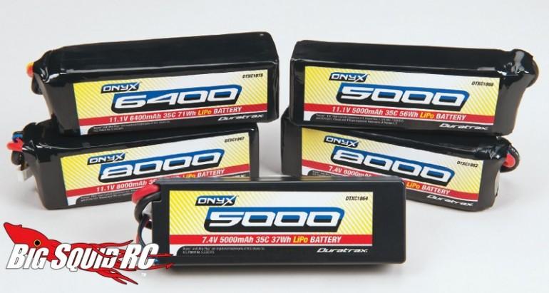 Duratrax Onyx 35C Lipo Batteries
