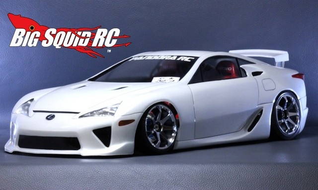 Lexus LFA Pandora RC Clear Body