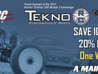 Tekno RC Sale at A Main Hobbies