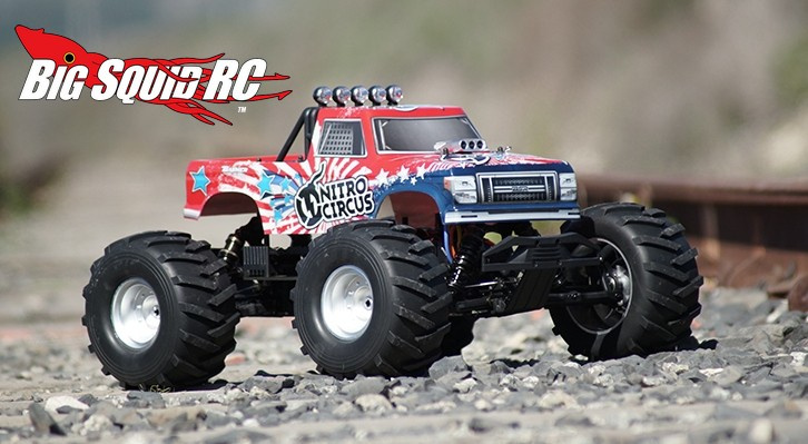Basher Nitro Circus MT 1/8th Scale RC Monster Truck « Big Squid RC