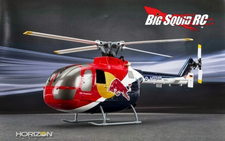 Blade Red Bull BO-105 CB 130 X BNF Helicopter