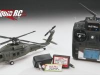 Heli-Max Black Hawk 1/43 Aerobatic Helicopter