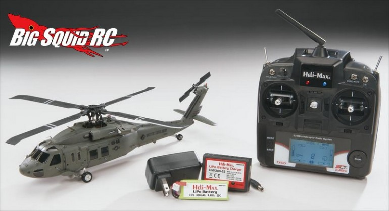 Heli-Max Black Hawk 1/43 Aerobatic Helicopter