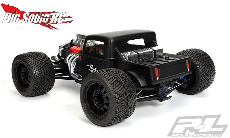pro line rat rod clear body for traxxas revo 3 3 summit. Black Bedroom Furniture Sets. Home Design Ideas
