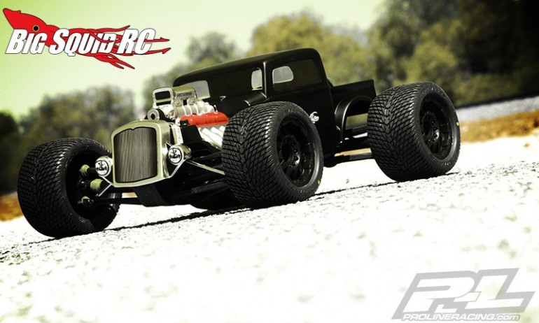 Pro-Line Rat Rod Clear Body Traxxas Revo Summit
