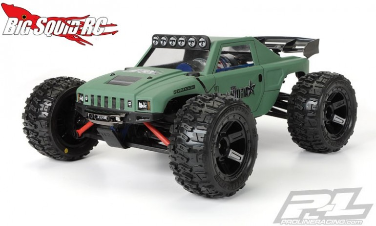 Pro-line Trencher 2 point M2 Tires Mounted Desperado