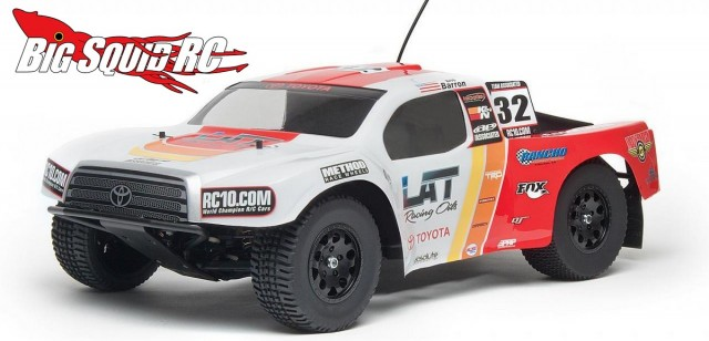 Associated SC10RS RTR Toyota Racing Body
