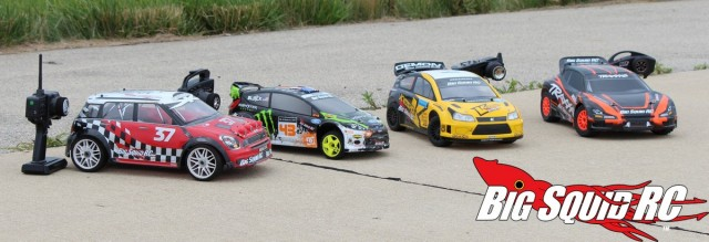 BigSquidRC Rally Car Shootout Looks
