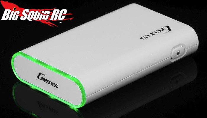 Gens Ace Power Bank 3.7v 10400mAh USB Portable Battery Charger