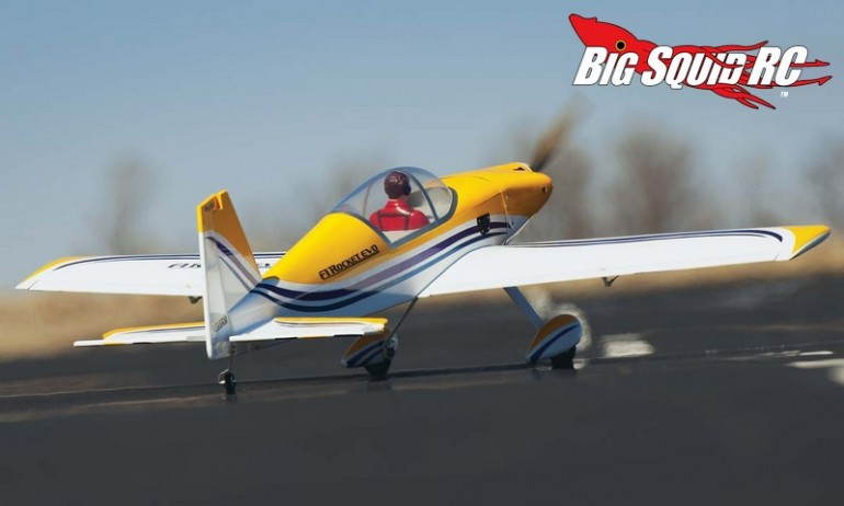 Great Planes F-1 Rocket Evo GP EP Sport Scale ARF 52""