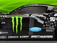 HPI E10 Drift Vaughn Gittin Jr. Monster Energy Nitto Tire Ford Mustang RTR