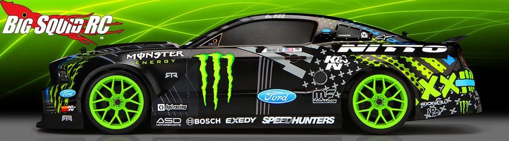 Hpi Drift Vaughn Gittin Jr Monster Energy Nitto Tire Ford