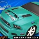 HPI Falken Tire 2013 Ford Mustang Micro RS4 Drift RTR