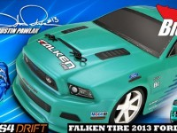 HPI Falken Tire 2013 Ford Mustang Micro RS4 Drift RTR