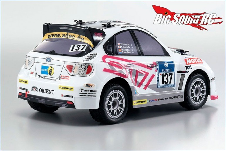 Kyosho Comic Racer Subaru