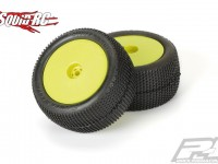 """Pro-Line Hole Shot 2.0 2.2"""" M3 (Soft) Off-Road Buggy Rear Tires Mounted"""