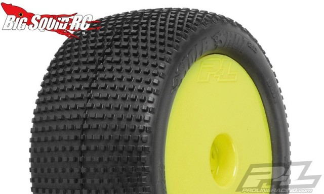 "Pro-Line Hole Shot 2.0 2.2"" M3 (Soft) Off-Road Buggy Rear Tires Mounted"
