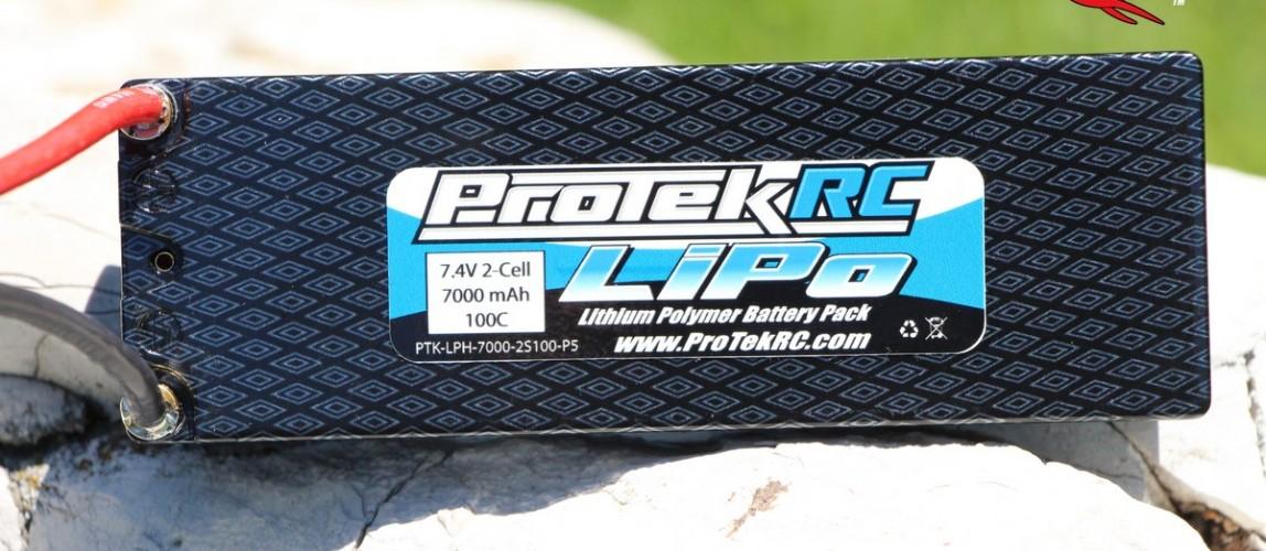 ProTek 7.4v 2S 100C 7000 mah Lipo Battery