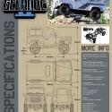 RC4WD Gelande II Truck Kit Defender Body
