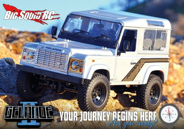 RC4WD Gelande II Truck Kit w/Defender D90 Body